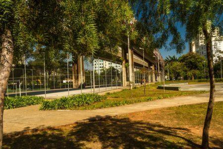 Parque Benemérito José Brás, piquenique refrescante em SP