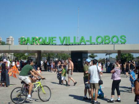 Parque Villa Lobos, piquenique refrescante em SP