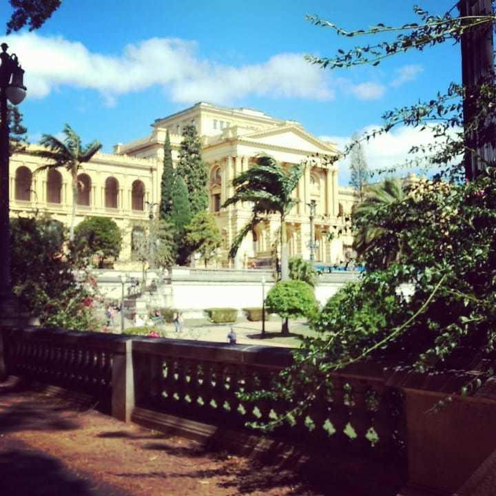jardins do parque da independência