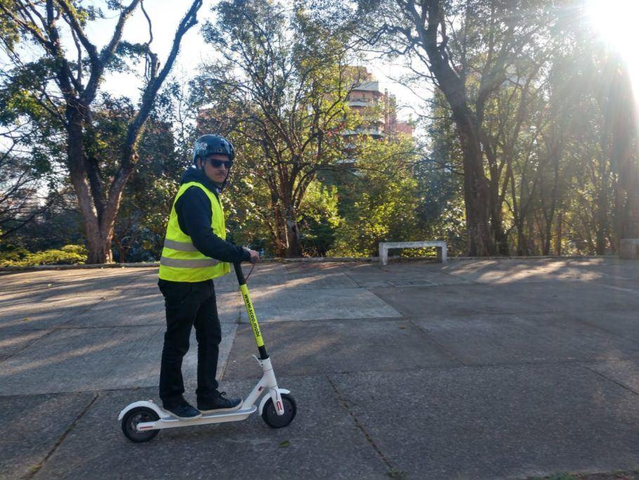 O patinete elétrico compartilhado já é opção de transporte na cidade de São Paulo