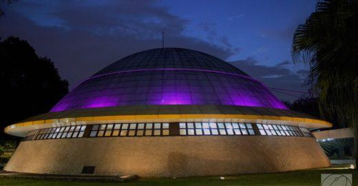 Planetário do Ibirapuera: um lugar para vistar o espaço sideral
