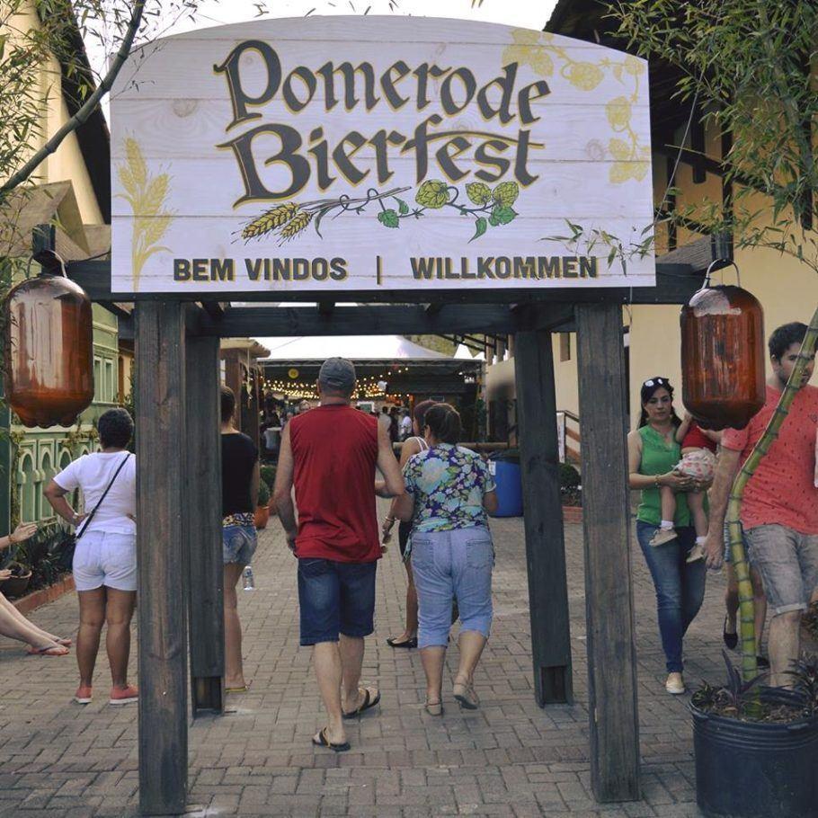 Pomerode Bierfest acontece de 7 a 9 e terá 16 cervejarias regionais