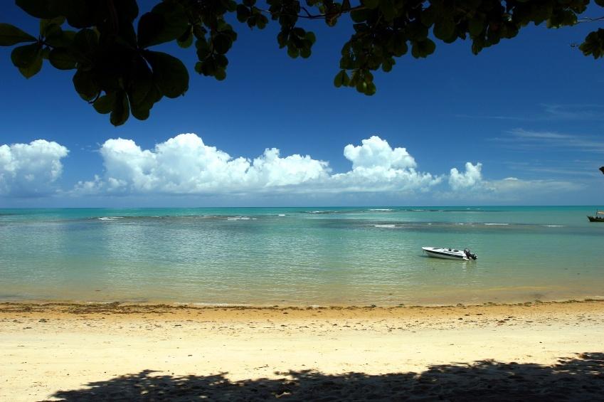 A praia do Espelho é um dos destinos mais desejados do Sul da Bahia