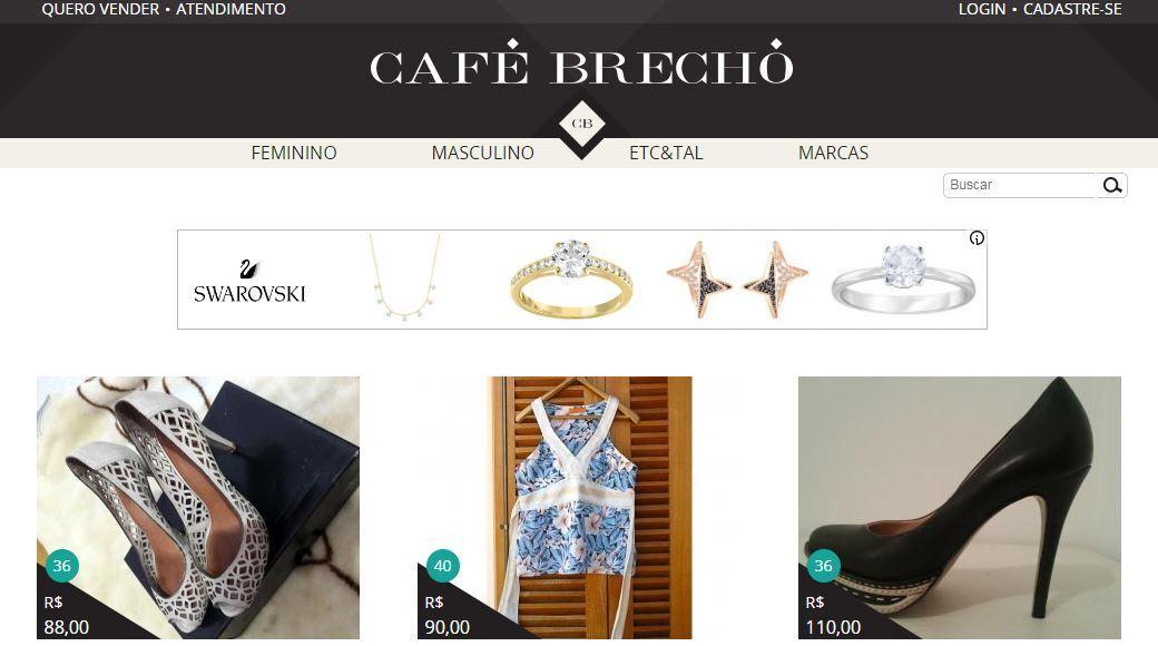 b0414b735a Crédito  iStockNo Café Brechó é possível comprar e vender produtos seminovos