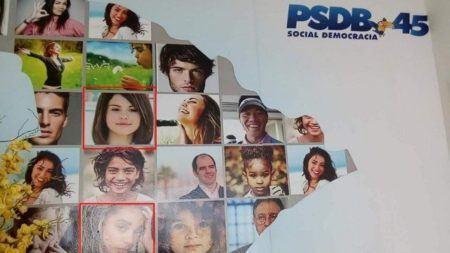 selena gomez PSDB