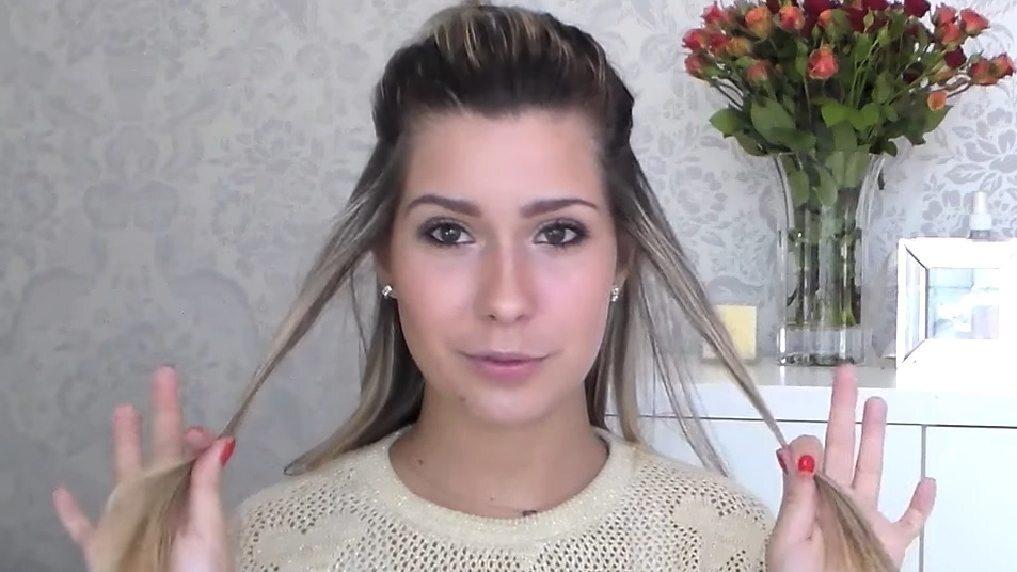 Passo a passo explicado pela blogueira Ella Diniz em vídeo do Youtube