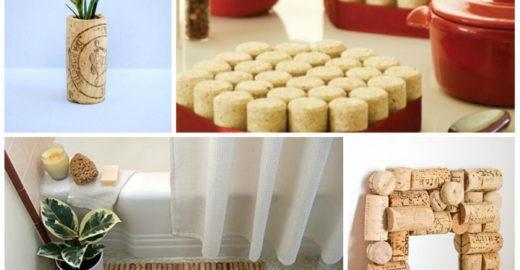 7 ideias para reutilizar rolhas na decoração e economizar
