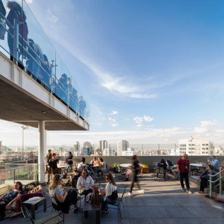 Aproveite a vista do mirante do Sesc Avenida Paulista