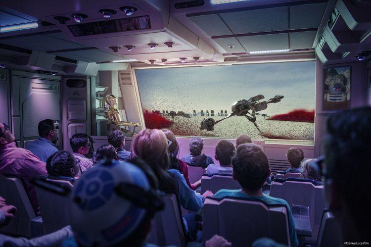 Simulador 3D do Star Tours - The Adventures Continue
