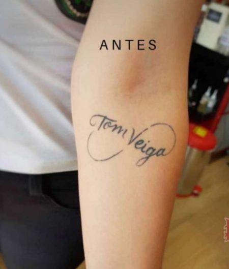 Alessandra Veiga apagou o nome do ex após fim do casamento