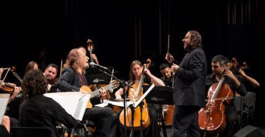 Alceu Valença e Orquestra Ouro Preto fazem concerto no Municipal