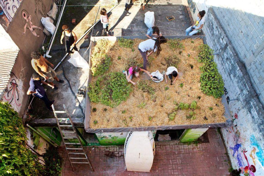 As hortas urbanas estão entre os temas da Virada