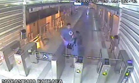 jovem esfaqueada assalto BRT RJ