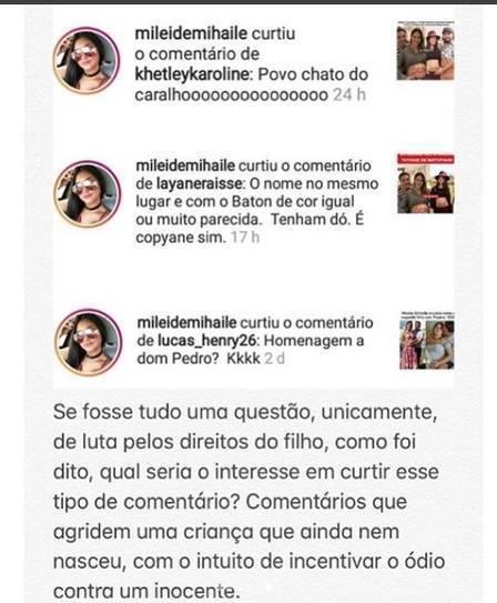 Mãe de Wesley Safadão detona Mileide Mihaile