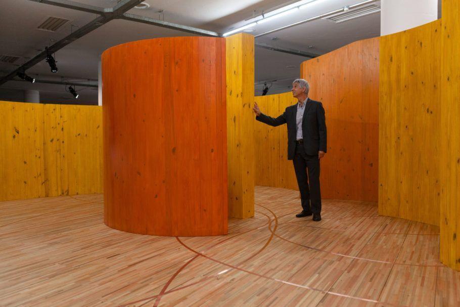 Alejandro Corujeira, artista.