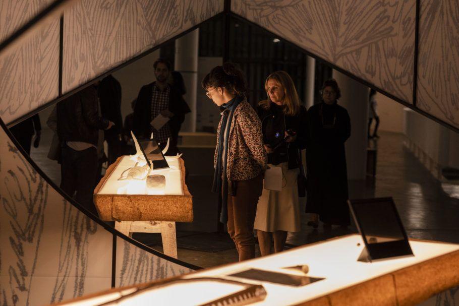 Obra de Zilvinas Landzbergas na 33a Bienal de São Paulo