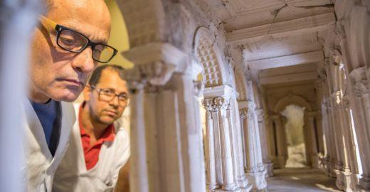 Palácio dos Bandeirantes abriga 200 peças do Museu do Ipiranga