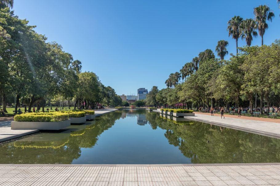 Parque Farroupilha, em Porto Alegre;