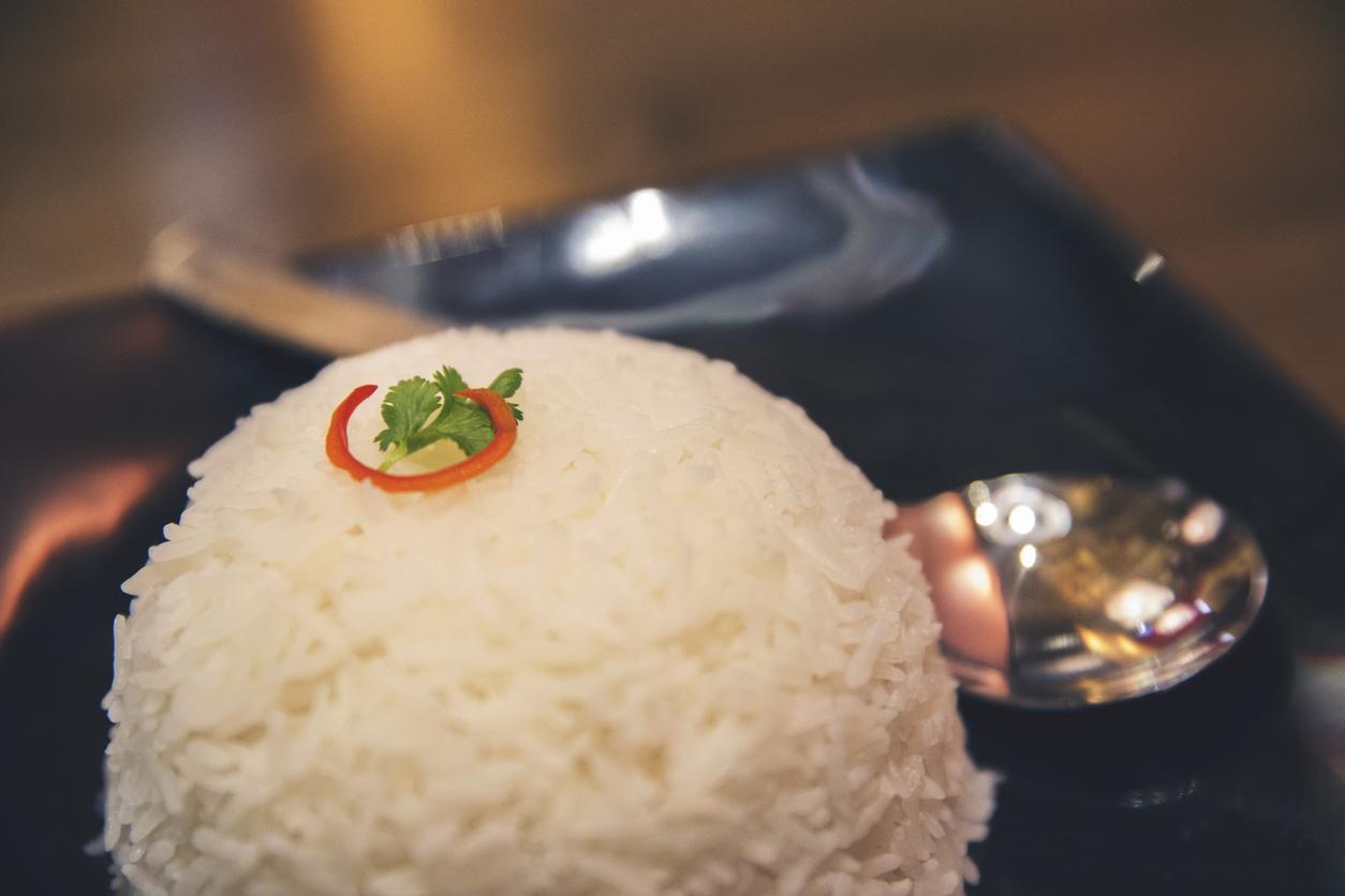 tigela com arroz