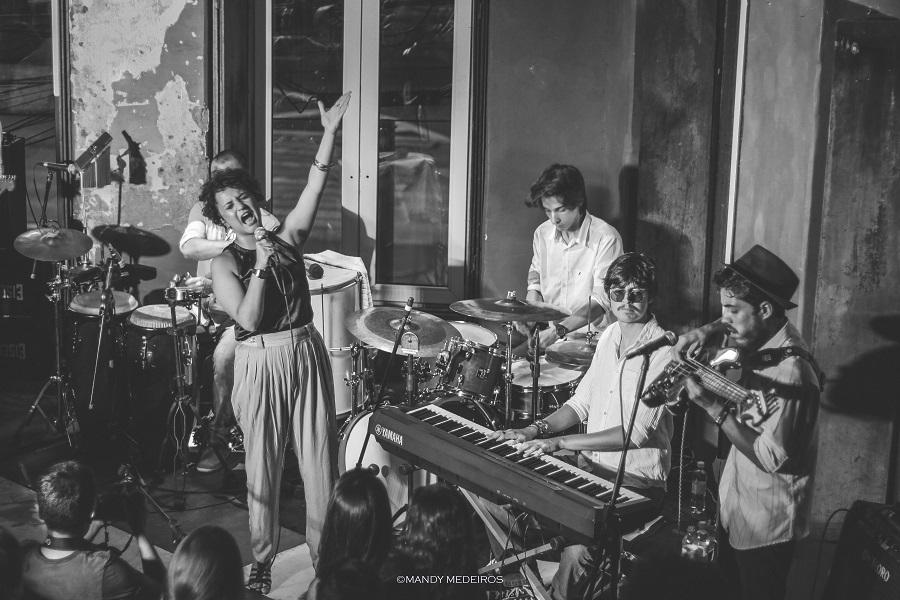 Banda Camila Lopez e O Arrastão no Tributo Elis Regina