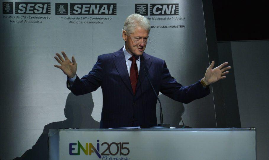 Bill Clinton no Brasil