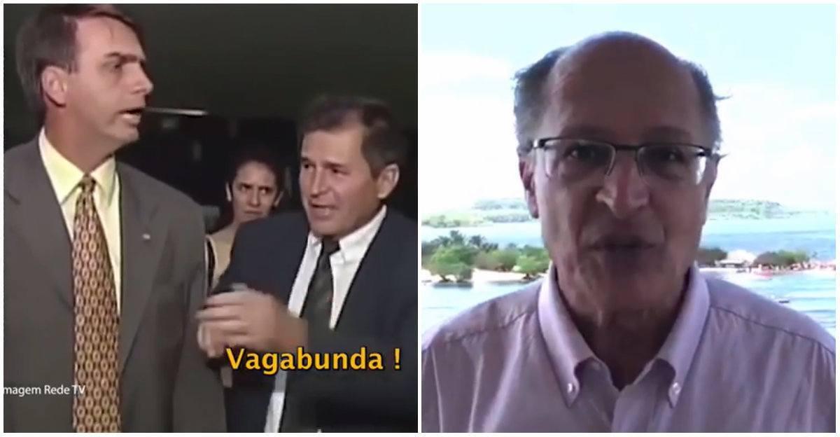 bolsonaro alckmin propaganda
