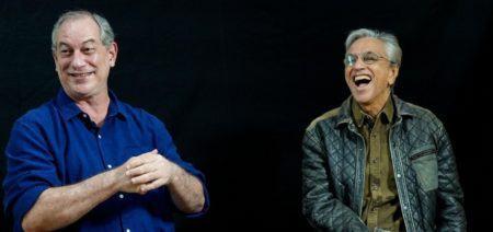 Ciro Gomes e Caetano Veloso