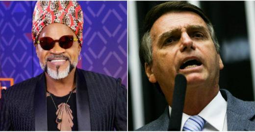 Brown manda indireta para Bolsonaro no The Voice, aponta web