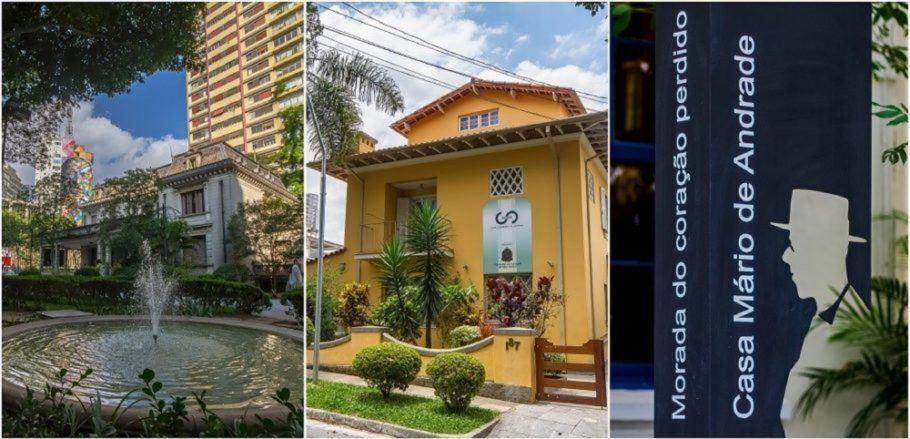 Casa das Rosas, Casa Guilherme de Almeida e Casa Mário de Andrade recebem programação especial