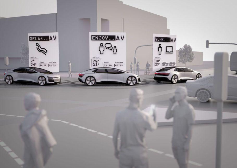 O compartilhamento de veículos é uma das propostas da cidade inteligente