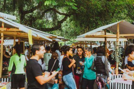 Circuito Junta Local ocupa a Praça Santos Dumont, na Gávea
