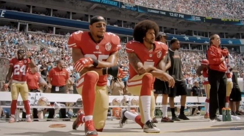 b242252419 Campanha da Nike com jogador da NFL gera protestos nos EUA