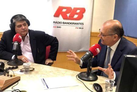Datena e Alckmin