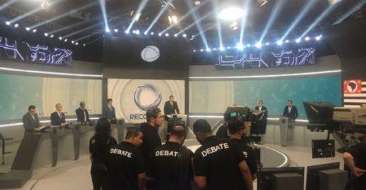 Em debate, candidatos de SP citam protestos contra Bolsonaro