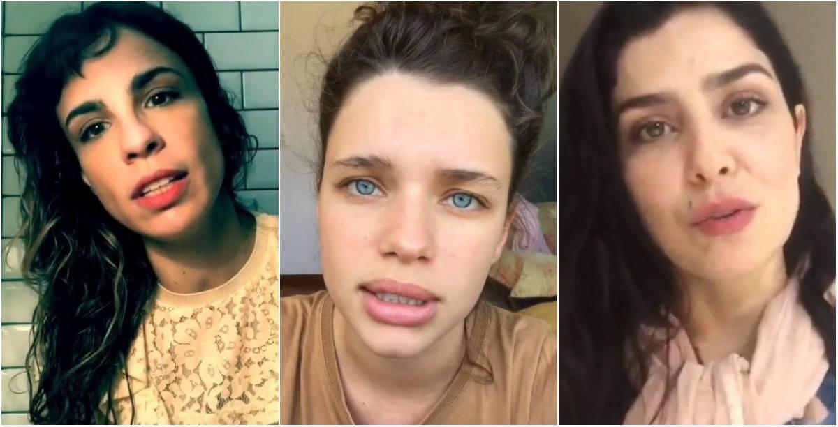 Maria Ribeiro, Bruna Linzmeyer e Leticia Sabatella