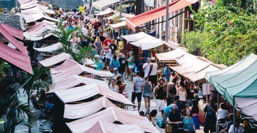 No Rio, todo primeiro sábado do mês tem feirinhas e passeios