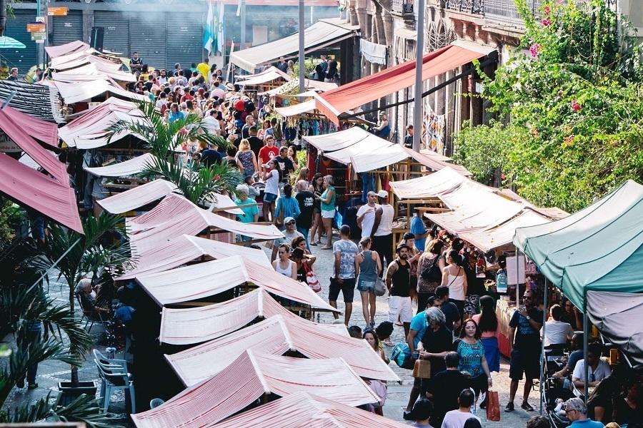 Feira do Lavradio no fim de semana no Rio
