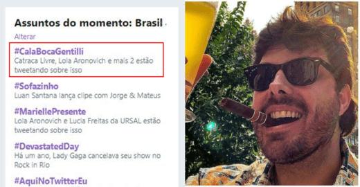 Danilo Gentili 'dá aula' sobre feminismo e vira chacota na web