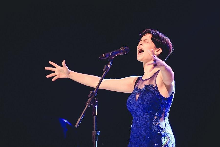 Kézia Borges, vencedora da última edição do Festival da Canção Francesa