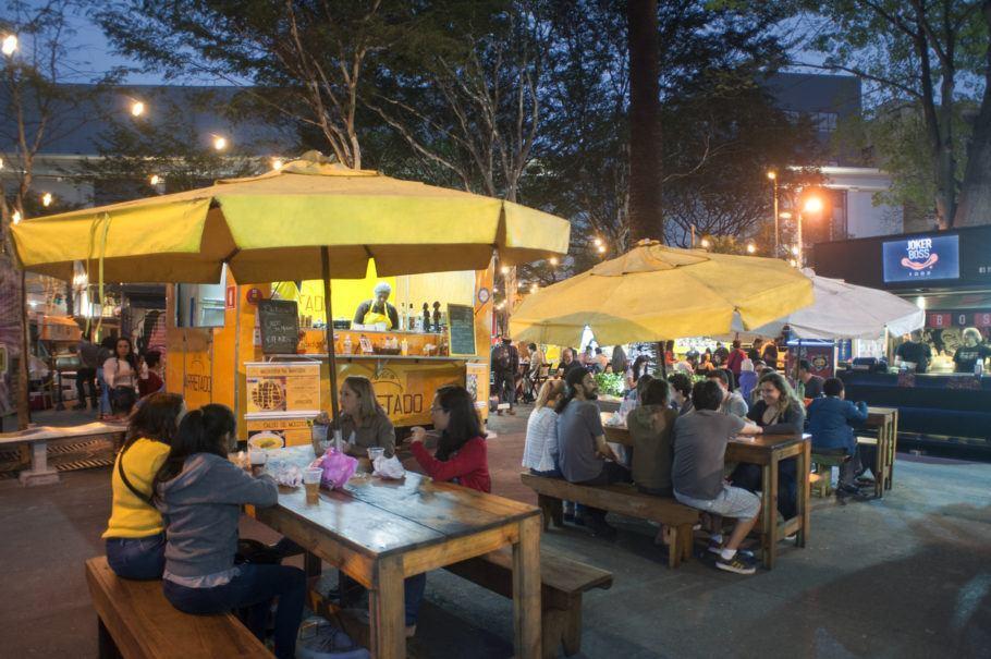 Food Truck na Avenida Paulista