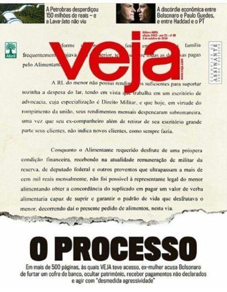 Testificar desvanecerse Notorio  Opinião: documento obtido pela Veja vai acabar com Bolsonaro?