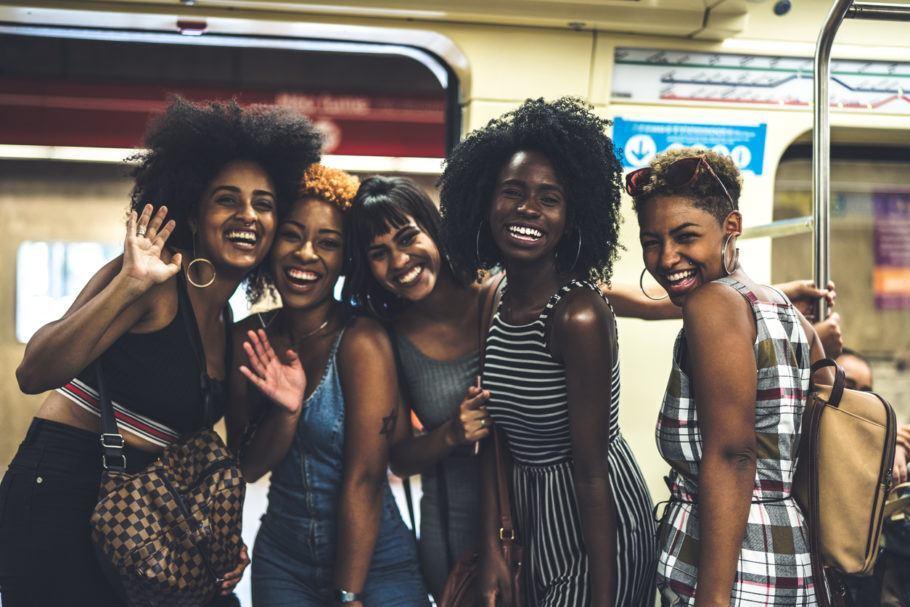 Mulheres no Metrô de São Paulo