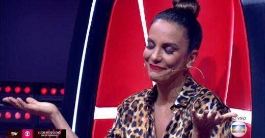 Ivete Sangalo 'esmurra' os machistas no The Voice e é ovacionada