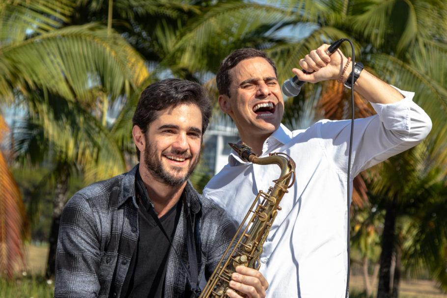 Curadores do evento que leva jazz gratuito para os parques