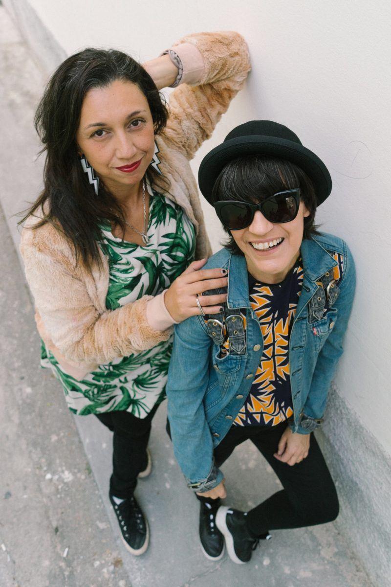 Publicitária Lalai Persson e jornalista Claudia Assef