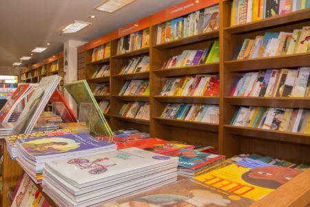 Livraria Novesete é dedicada aos pequenos