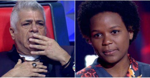 Reação de Lulu Santos sem Priscila Tossan no The Voice divide web