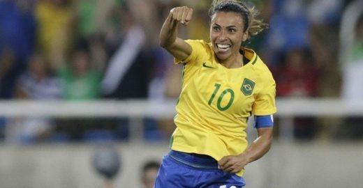Marta faz história e é eleita a melhor do mundo pela sexta vez