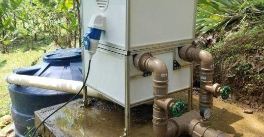 Microusina hidrelétrica dispensa represamento de água