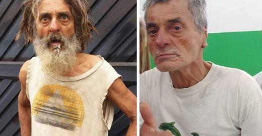 Morador de rua ganha 'transformação' de médico e viraliza na web